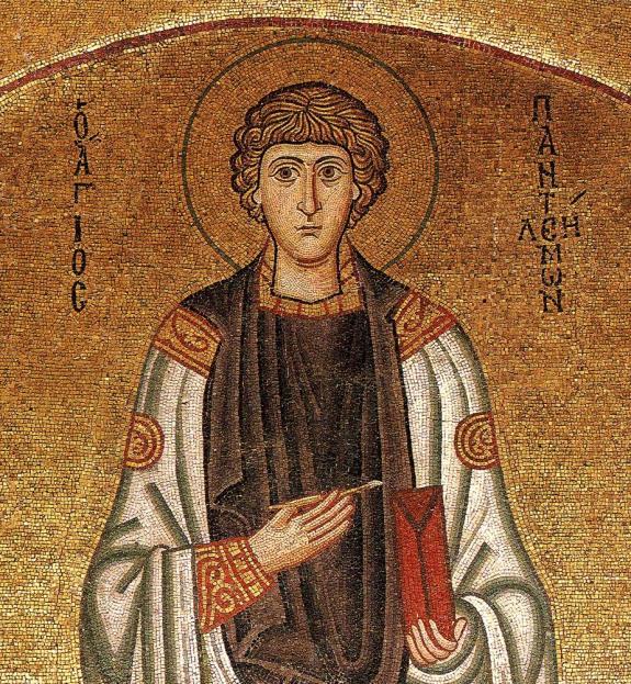 Мозаика. Визания. ХІ век. Греция, монастырь Осиос Лукас