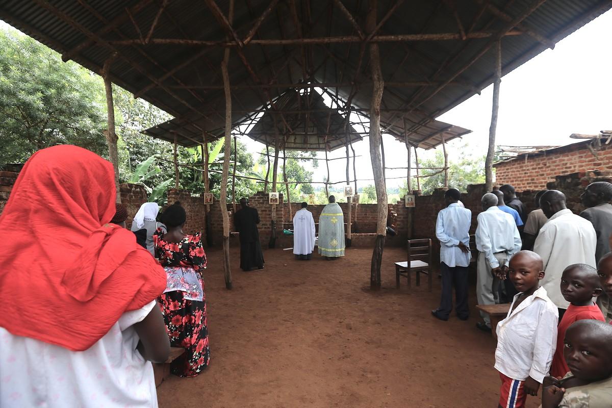Воскресная служба в старообрядческой церкви, Накабаале