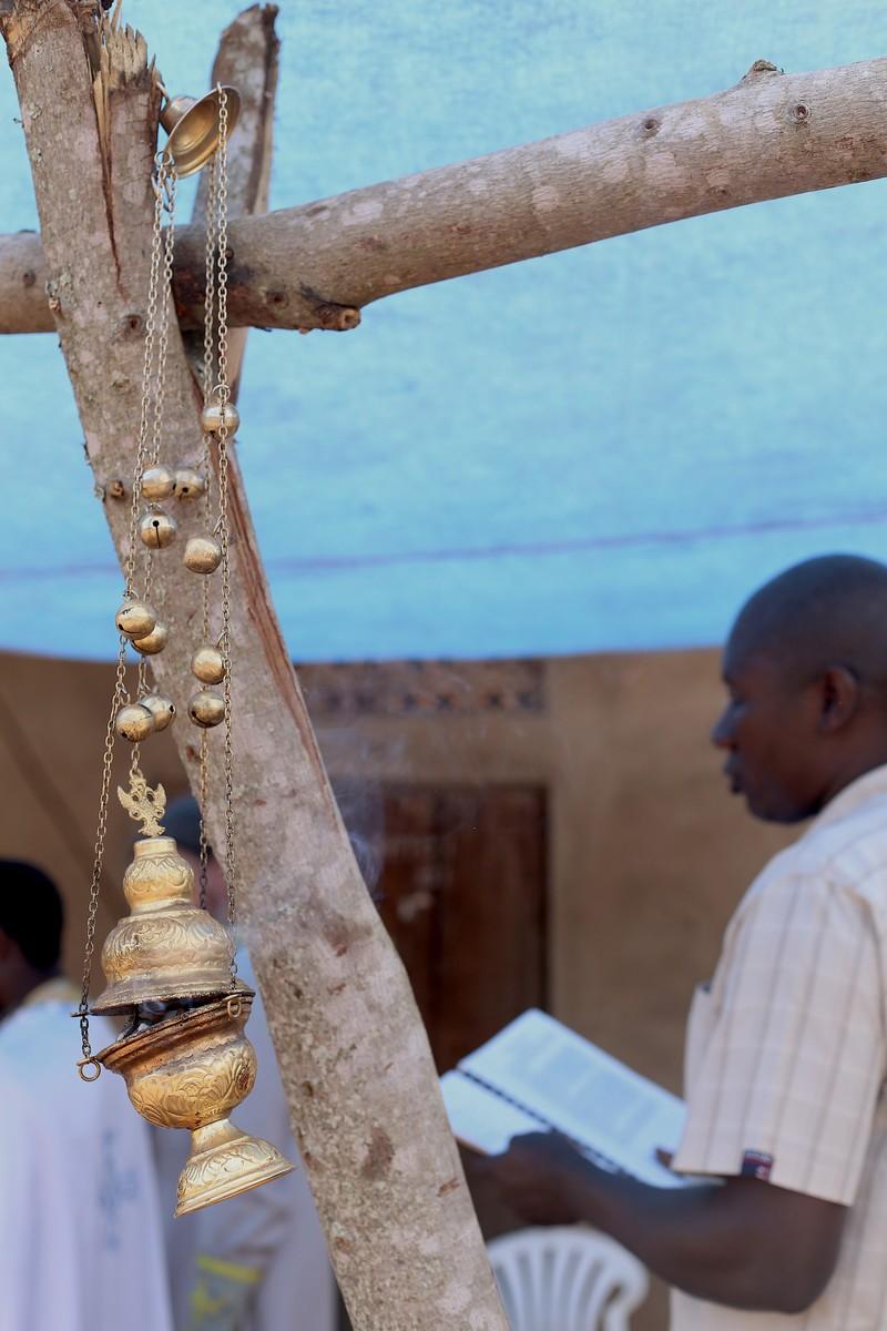 Кадило, молитва в общине Кисоджо
