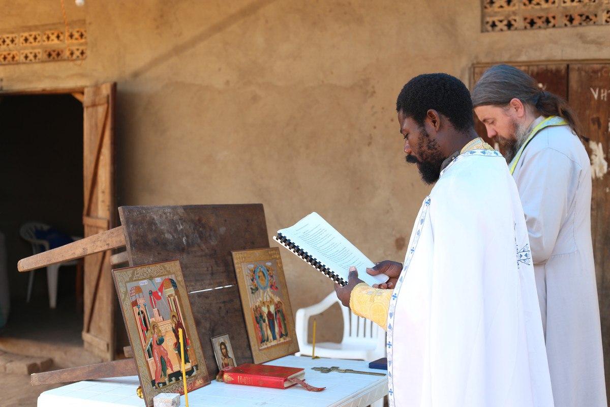 Отец Никола и Отец Иоаким, молитва, Кисоджо