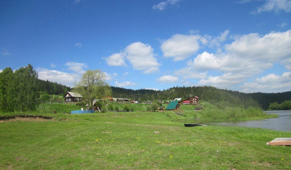 Деревня Комарово. Снимки сделаны совсем недавно