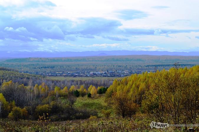 Верхний Кужебар (вид с дороги к источнику) © Павел Глазунов/Ридус