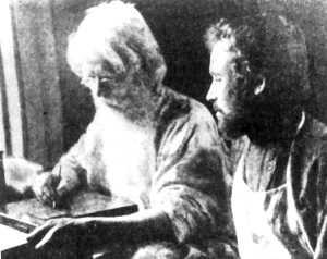 Гавриил Евимович Фролов и Пимен Максимович Сафронов