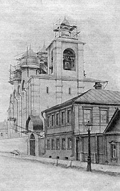 Старообрядческий собор Успения Пресвятыя Богородицы ,Марксистская улица, д.9 стр.3.