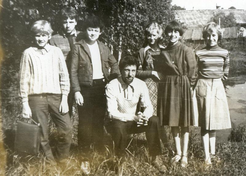 Вячеслав третий слева