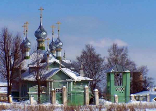 Церковь Покрова Пресвятой Богородицы с.Стрельниково