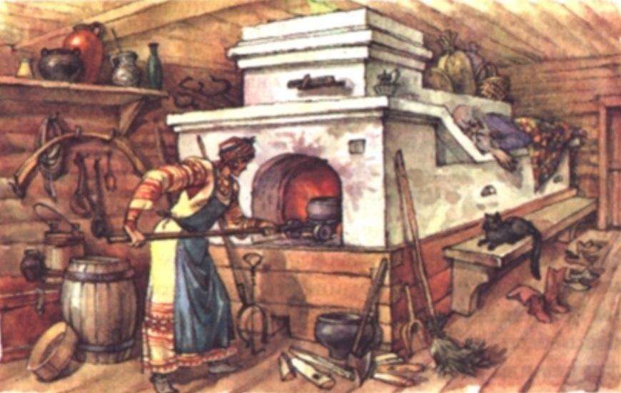 печь израсцовая