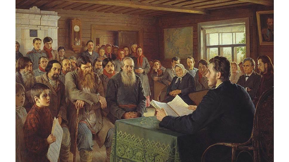 Благодаря деятельности различных просветителей к концу XIX века в России заметно увеличилось количество грамотных