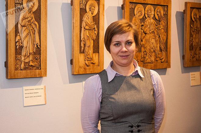 Эйнике Соовяли, сотрудник Эстонского музея под открытым небом