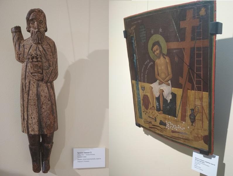 Экспонаты музея наивного искусства