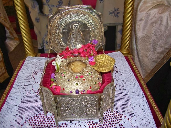 Мощи священномученика Харлампия