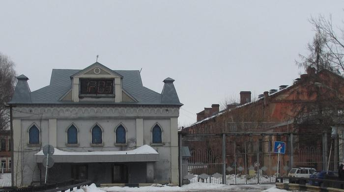Прядильно -ткацкая фабрика №2 в наши дни .