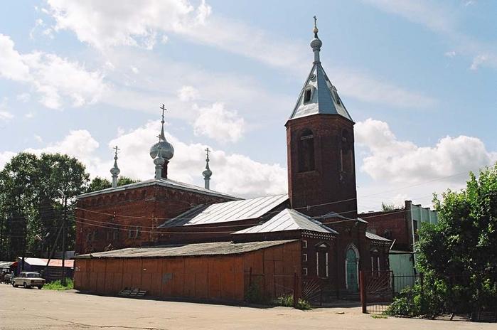Вид церкви Покрова Пресвятыя Богородицы в наши дни ( бывшая Старообрядческая Троицкая церковь )