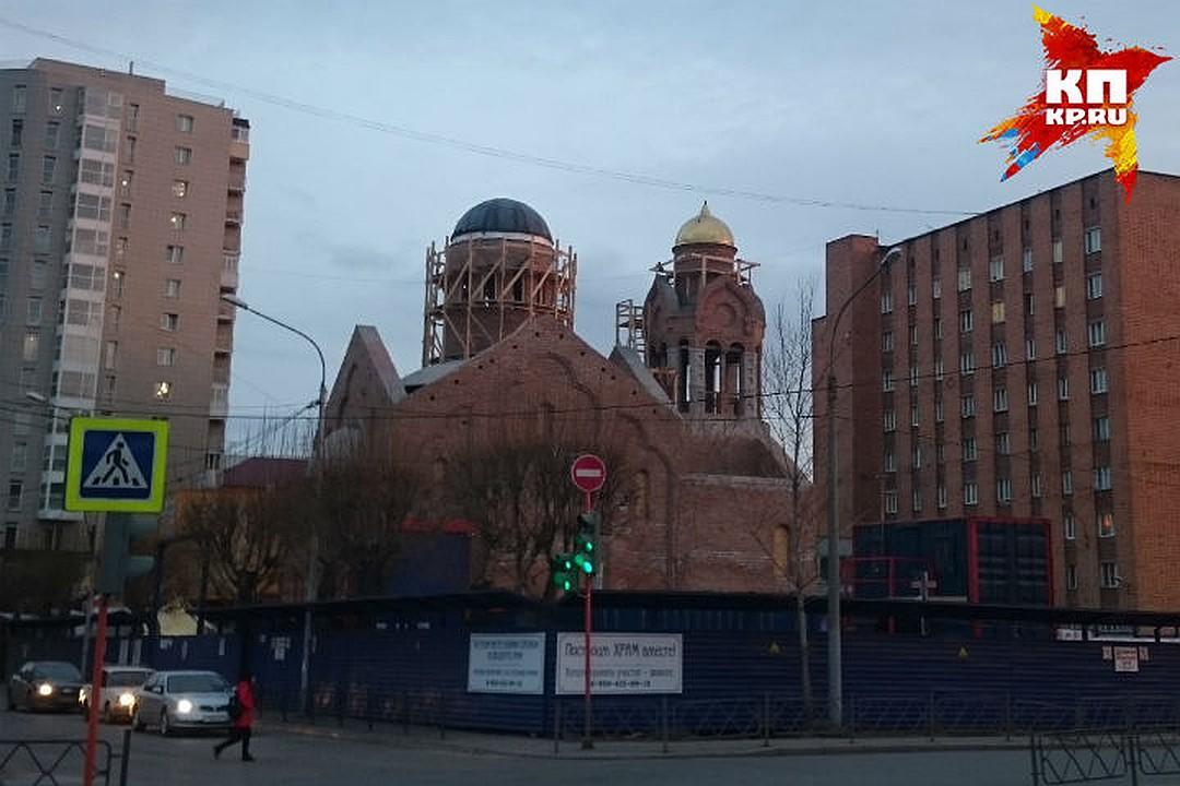 Открыть церковь планируют следующей весной. Фото: АСЯ ЖУКОВА