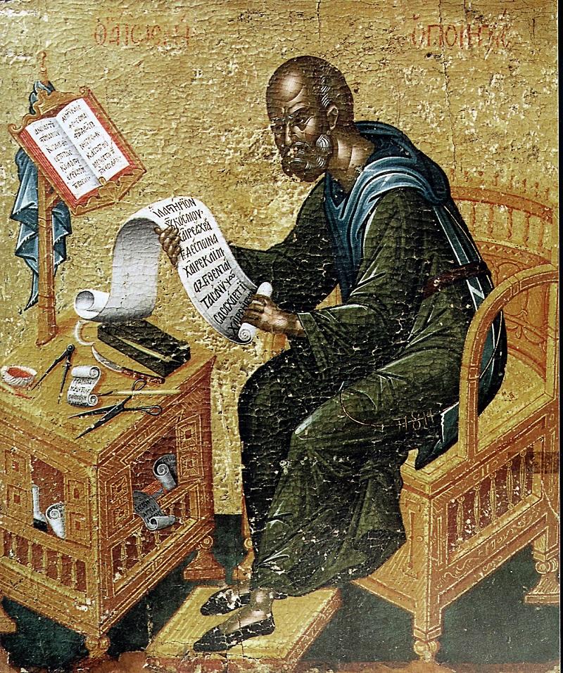 Преподобный Иосиф Песнописец и творец канонов