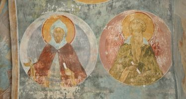 Преподобные Ефрем Сирин и Иоанн Лествичник, 15век, Дионисий, Ферапонтов монастырь