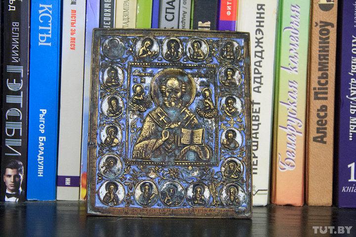 Старообрядческая икона Николы Чудотворца. Иллюстративный снимок. Фото: Игорь Матвеев