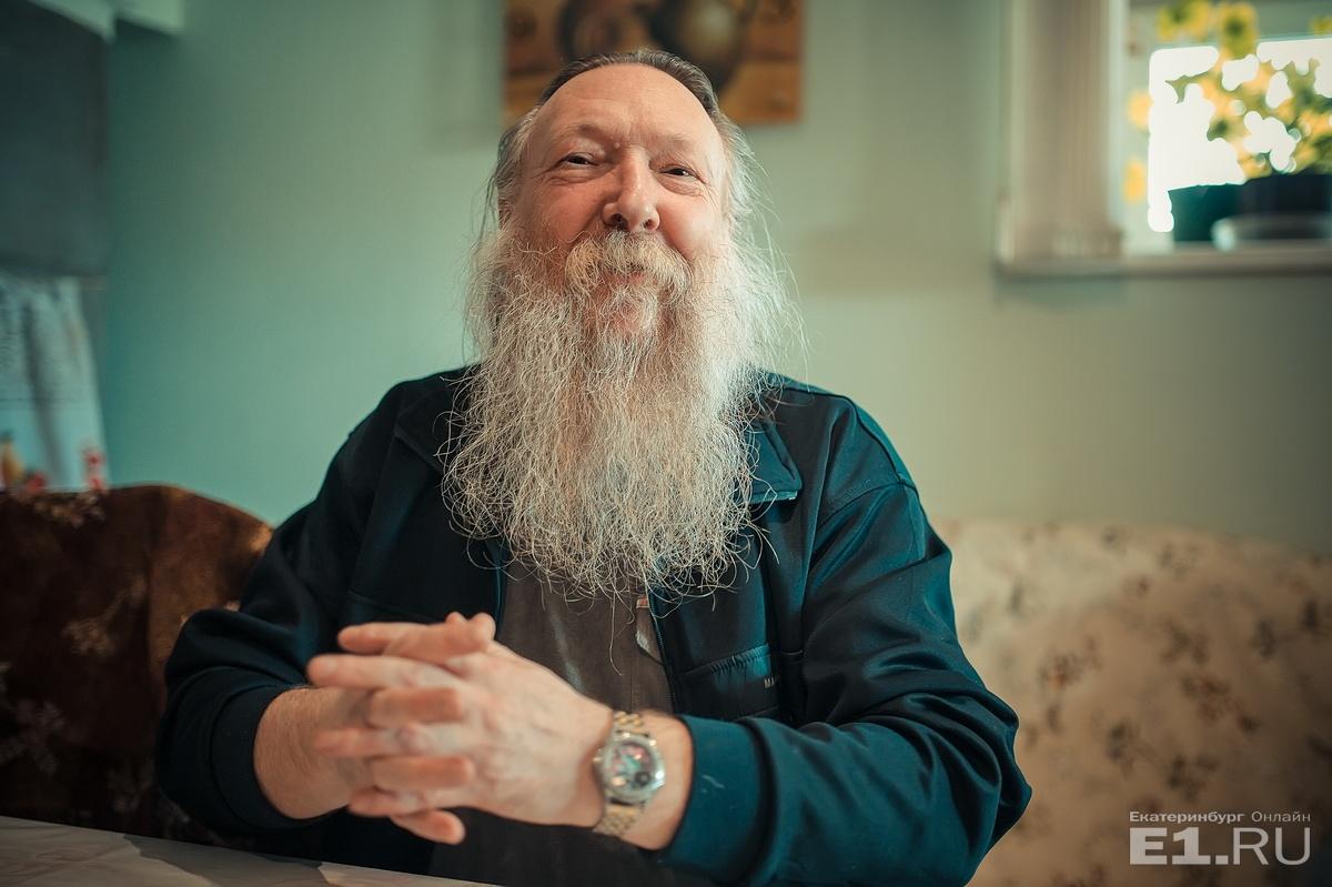 Отец Иоанн — настоятель храма в Пристани